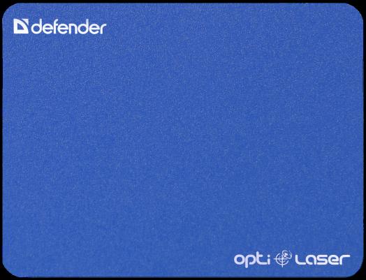 Коврик для компьютерной мыши Defender Silver opti-laser (синий)