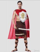 Костюм карнавальный взрослый Римский воин Спартак