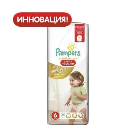 Трусики Pampers Premium care 6 (16+ кг) 36 шт