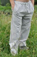 Этнические мужские штаны из органического эко хлопка