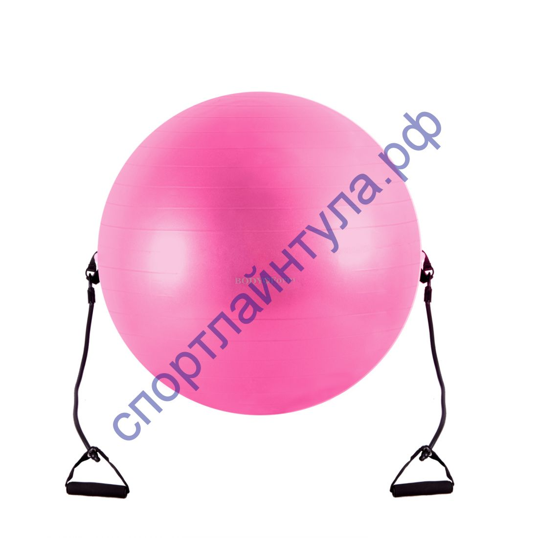 Мяч гимнастический с эспандером BF - GBE01AB (65см)