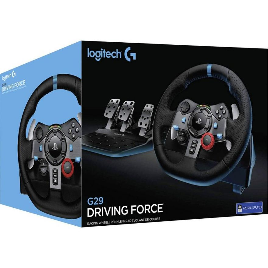 Игровой руль Logitech G29 Driving Force (PS4,PS3,PC)