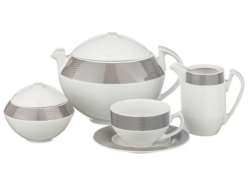 """Чайный сервиз на 6 персон """"Scarabeus"""", 15 пр., 1400/200/300/300 мл"""