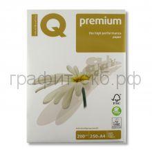 Бумага А4 IQ 200 г/м IQ Premium 250л.