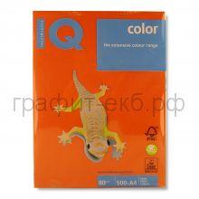 Бумага А4 IQ N09 кирпично-красный 500л