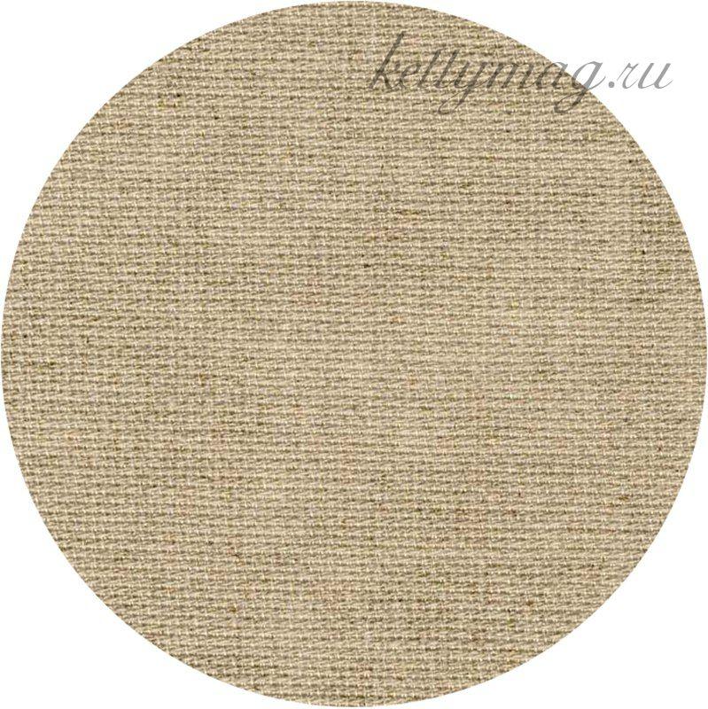 КАНВА Zweigart  LINEN-AIDA 20 CT Цвет  №53 натуральный лён/raw linen