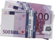 """Ненастоящие деньги """"Пачка 500 евро"""" (арт. 13550)"""