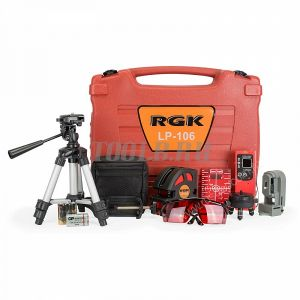 RGK LP-106 MAX - лазерный нивелир