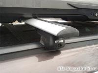 Багажник на крышу Audi Q7, Атлант, крыловидные аэродуги