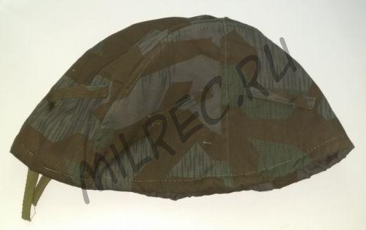 Камуфляжный чехол на шлем, двухсторонний белый-осколок, реплика