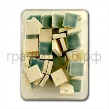 Мозаика 10х10 керамика бирюзовая МХ-7615-121