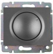 Накладка диммера поворотного 1000Вт Legrand Galea Life Aluminium (арт.771359)