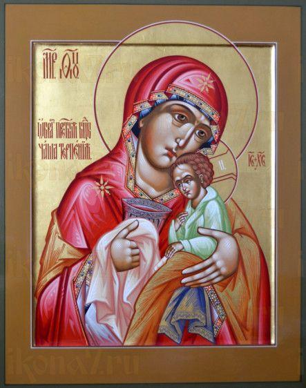 Чаша Терпения (рукописная икона)