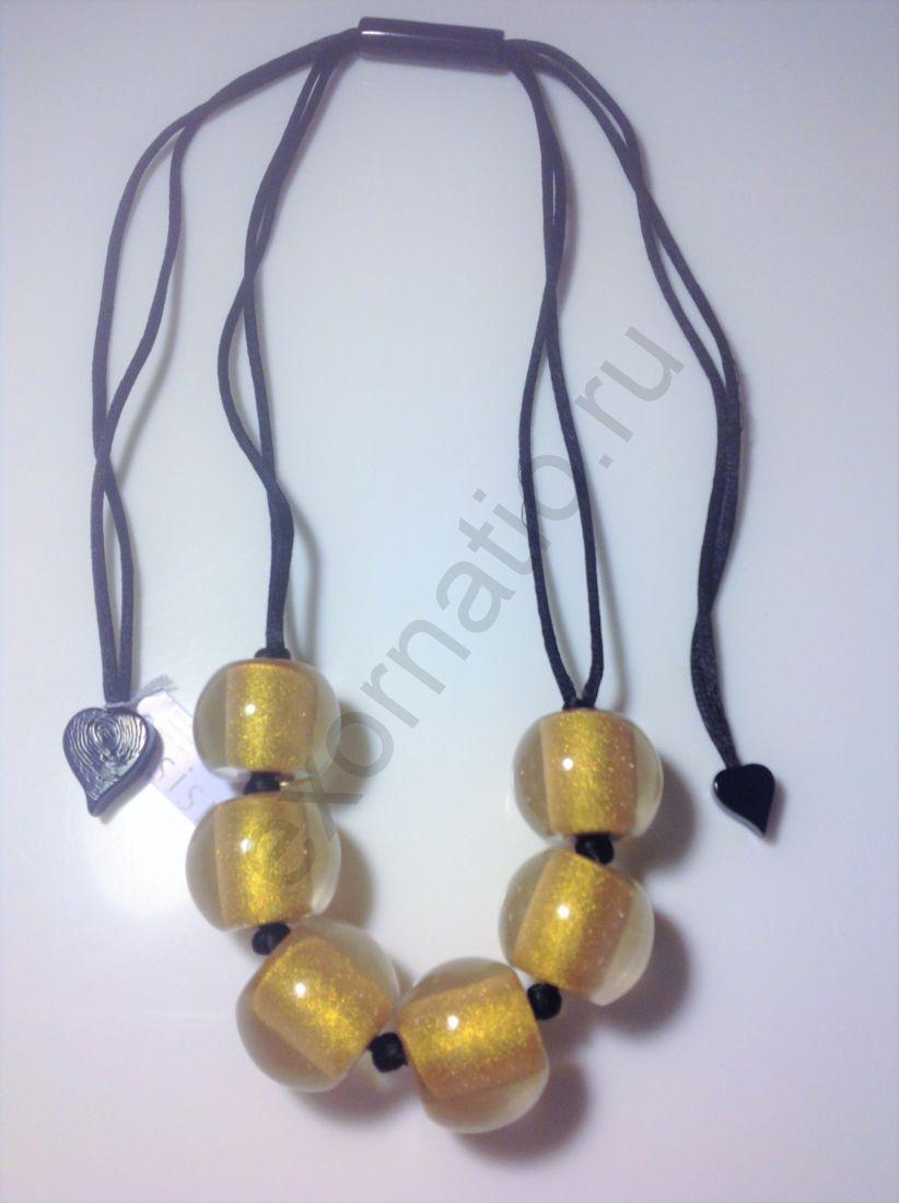 Колье Zsiska 4010120G00PQ06. Коллекция Clourful Beads 2