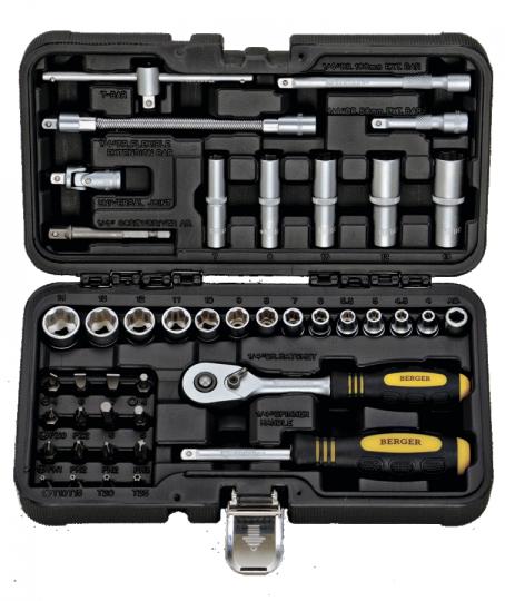 Универсальный набор инструментов 43 предмета BERGER BG043-14