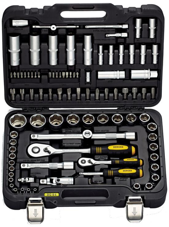 Универсальный набор инструментов 94 предмета BERGER BG094-1214