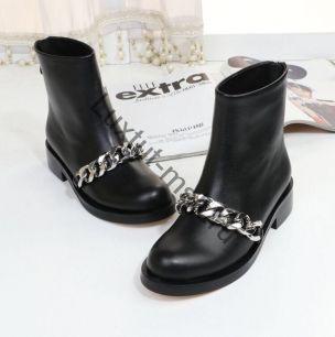 Ботинки Givenchy (весна-осень) с цепью