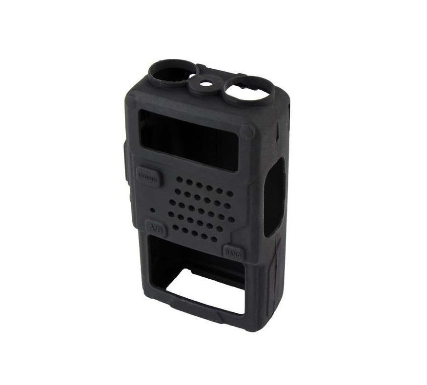 Резиновый чехол для рации Baofeng UV-5R черный