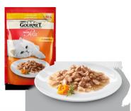 Gourmet Mon Petit Мини филе в подливе с курицей (50 гр)