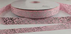 `Лента репсовая с рисунком, ширина 22 мм, Арт. Р-ЛР5374