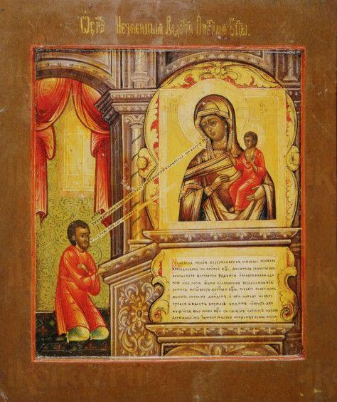 Нечаянная Радость икона Божией Матери (копия старинной)