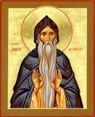 Макарий Великий (рукописная икона)