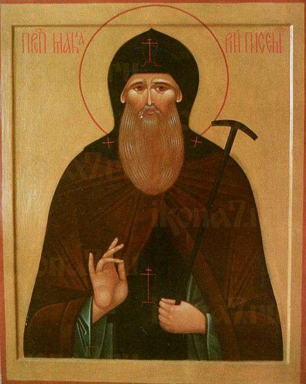 Макарий Писемский (рукописная икона)