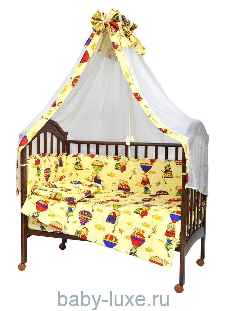"""Комплект в кроватку """"Малыш"""", 7 предметов"""