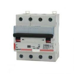 Дифференциальный автомат Legrand 4-полюсный 30mA/10А-AC-4M