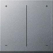 Gira S 55 Алюминий Накладка светорег. нажимного