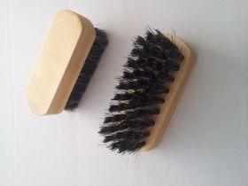 Щетка обувная (дерево/волос) мини. С-1-52В.