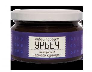 Урбеч из проростков семян черного кунжута Живой Продукт