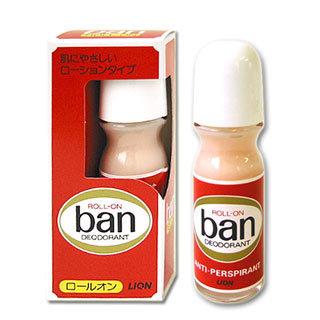 Японский дезодорант-антиперспирант Длительная защита LION Ban с легким цветочным ароматом