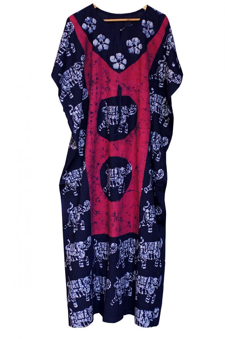 Разные цвета! Безразмерное платье из хлопка (Москва)