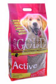 NERO GOLD super premium для активных собак с курицей и рисом