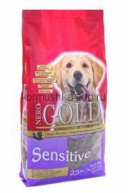 NERO GOLD super premium для собак с чувствительным пищеварением с индейкой и рисом