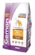Gemon Dog Medium корм для взрослых собак средних пород с курицей  15 кг