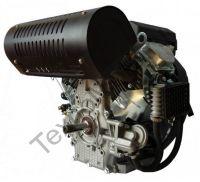 Zongshen ZS 2V78FE (680 куб. см) бензиновый двигатель с двумя цилиндрами мощностью 24 л. с., электростартером и воздушным охлаждением, диаметр вала 25,4 мм.