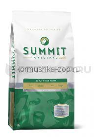 Summit holistic для собак крупных пород три вида мяса с цыпленком, ягненком и лососем