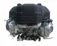 Бензиновый двухцилиндровый двигатель с ручным и электрическим стартером Zongshen ZS XP680FE 24 л.с. для садовых тракторов, райдеров, бурильных установок, аэросаней.
