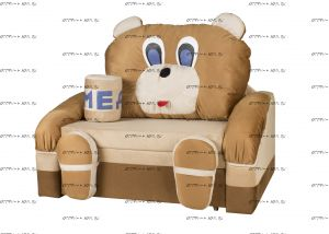 Кровать-диван Мишка с медом