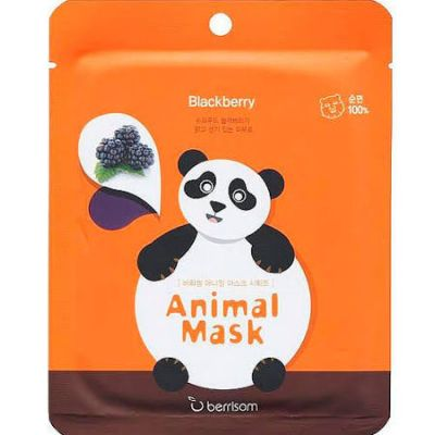 Маска тканевая BERRISOM Animal mask series в ассортименте