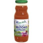 Флёр Альпин - сок Органик яблоко-гранат, 8 мес., 200 мл