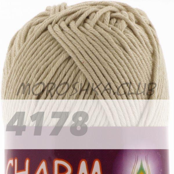 Светло-бежевый Сharm VITA cotton (цвет 4178), упаковка 10 мотков
