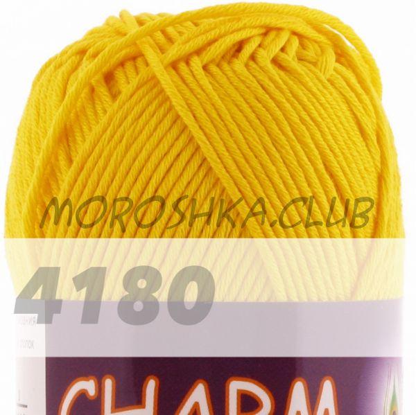 Жёлтый Сharm VITA cotton (цвет 4180), упаковка 10 мотков