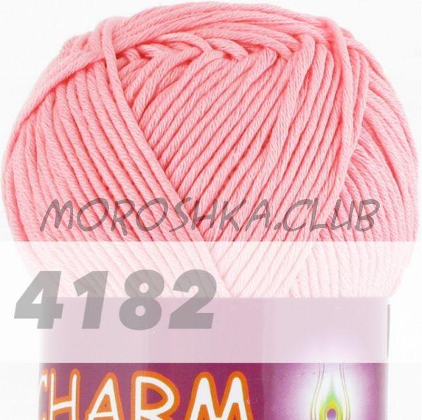 Светло-розовый Сharm VITA cotton (цвет 4182), упаковка 10 мотков