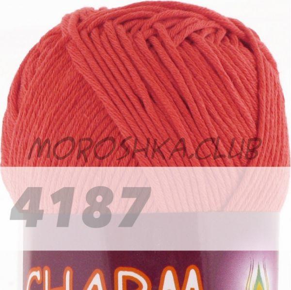 Светлый тарракот Сharm VITA cotton (цвет 4187), упаковка 10 мотков