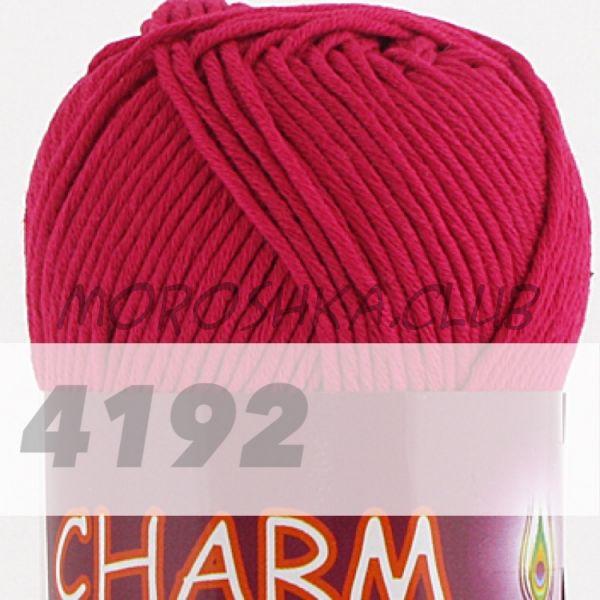 Красная ягода Сharm VITA cotton (цвет 4192), упаковка 10 мотков