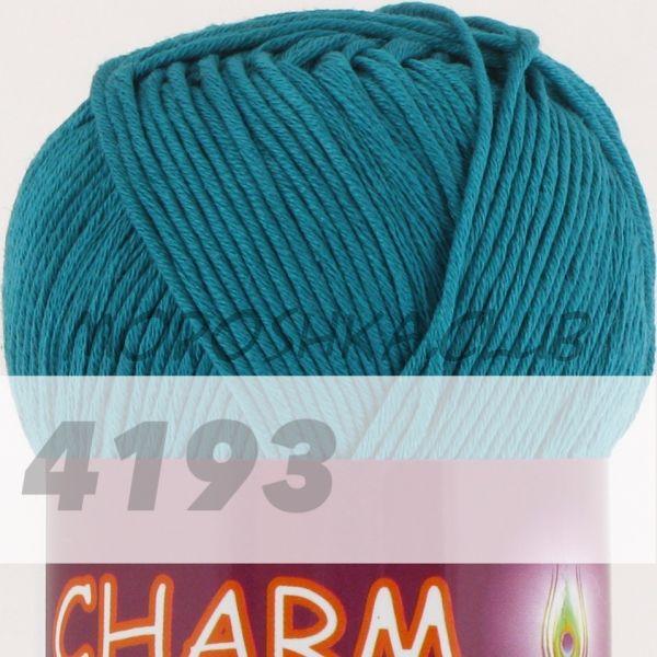 Морская волна Сharm VITA cotton (цвет 4193), упаковка 10 мотков