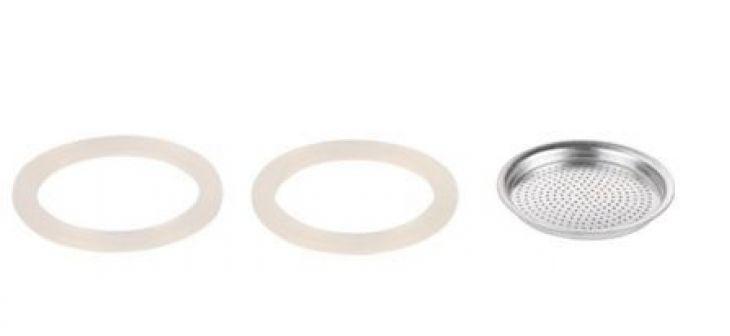 Фильтр и 2 силиконовые прокладки для кофеварки PALOMA, 1 чашка 64700104